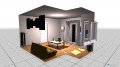 Raumgestaltung Grundrissvorlage Erker in der Kategorie Foyer