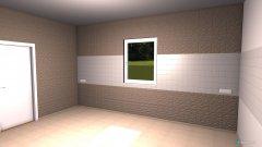 Raumgestaltung Grundrissvorlage Küche in der Kategorie Foyer