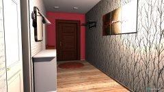 Raumgestaltung koridor2 in der Kategorie Foyer
