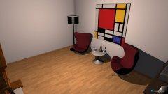Raumgestaltung lounge in der Kategorie Foyer