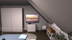 Raumgestaltung schlafzimmer in der Kategorie Foyer