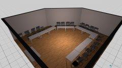 Raumgestaltung Seminarraum in der Kategorie Foyer