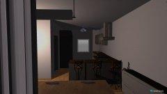 Raumgestaltung wohn  ess in der Kategorie Foyer