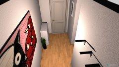 Raumgestaltung Wohnung 10 - Diele in der Kategorie Foyer