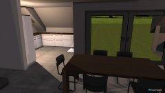 Raumgestaltung Wohnung Ettenkirch #L-Küche in der Kategorie Foyer