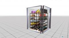 Raumgestaltung arisierung 2qm in der Kategorie Garage