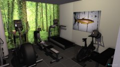 Raumgestaltung entree -2 met muurtje in der Kategorie Garage