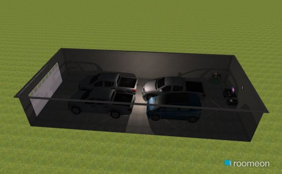 Raumgestaltung Garagem da Impresa in der Kategorie Garage