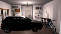 Raumgestaltung Grundrissvorlage Erker in der Kategorie Garage