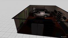 Raumgestaltung Schuppen für Trecker und Auto in der Kategorie Garage