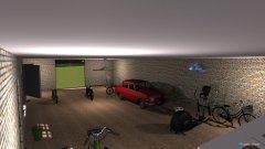 Raumgestaltung VoVka.Garage23 in der Kategorie Garage