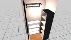 Raumgestaltung Abstellraum in der Kategorie Garderobe