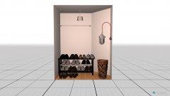 Raumgestaltung Cloakroom in der Kategorie Garderobe