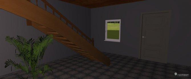 Raumgestaltung Flur in der Kategorie Garderobe