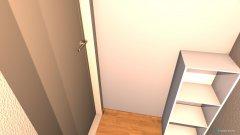 Raumgestaltung Garderobe in der Kategorie Garderobe