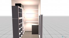 Raumgestaltung Kammer in der Kategorie Garderobe