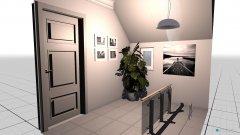 Raumgestaltung Vorraum Partyraum in der Kategorie Garderobe