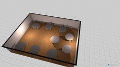 Raumgestaltung Boni Tische in der Kategorie Halle