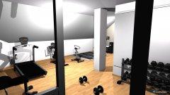 Raumgestaltung Fitness Neustift in der Kategorie Halle