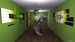 Raumgestaltung Flur in der Kategorie Halle