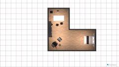 Raumgestaltung Grundrissvorlage Loft-Raum in der Kategorie Halle