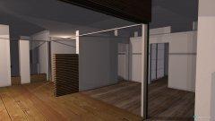Raumgestaltung Wohnhaus mit Atrium in der Kategorie Halle