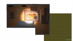 Raumgestaltung 2 tane 3lü koltuk in der Kategorie Hobbyraum