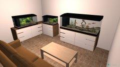 Raumgestaltung alex aqua in der Kategorie Hobbyraum