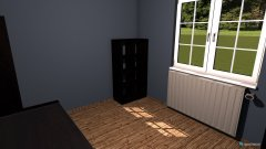 Raumgestaltung Altes Zimmer in der Kategorie Hobbyraum