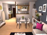 Raumgestaltung apartamento t1 + 1 in der Kategorie Hobbyraum