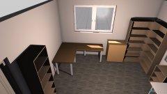 Raumgestaltung Arbeitszimmer in der Kategorie Hobbyraum