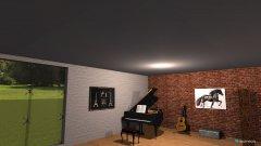 Raumgestaltung Aufenthaltsraum Highschool in der Kategorie Hobbyraum
