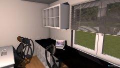 Raumgestaltung Bastelzimmer in der Kategorie Hobbyraum