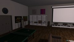 Raumgestaltung Beamer in der Kategorie Hobbyraum