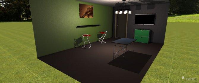 Raumgestaltung biliardzimmer in der Kategorie Hobbyraum