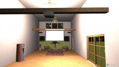 Raumgestaltung Buddha Hall in der Kategorie Hobbyraum