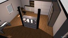 Raumgestaltung Büro Keller in der Kategorie Hobbyraum