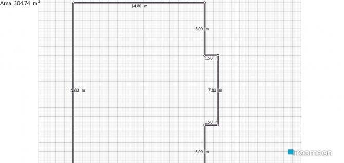 Raumgestaltung Casa in der Kategorie Hobbyraum