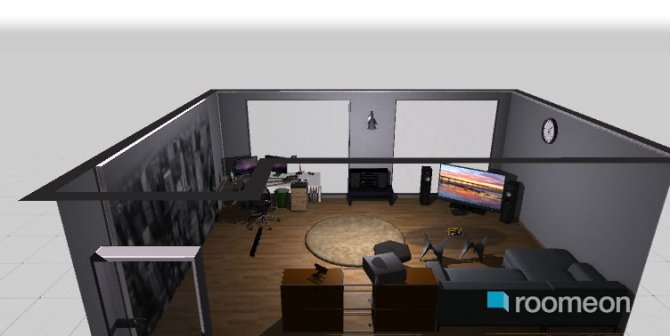Raumgestaltung CC Zimmer 1.0 in der Kategorie Hobbyraum