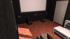 Raumgestaltung Cinema in der Kategorie Hobbyraum