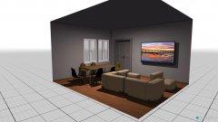 Raumgestaltung Club Room Rendering in der Kategorie Hobbyraum