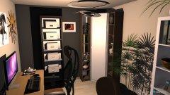 Raumgestaltung Computer-Raum in der Kategorie Hobbyraum