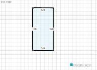 Raumgestaltung Cozinha, Sala de Estar e Jantar Taquari in der Kategorie Hobbyraum