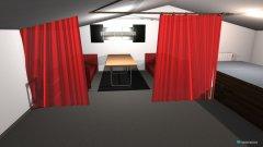 Raumgestaltung Dachboden Zockerecke in der Kategorie Hobbyraum
