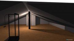 Raumgestaltung Dachboden in der Kategorie Hobbyraum