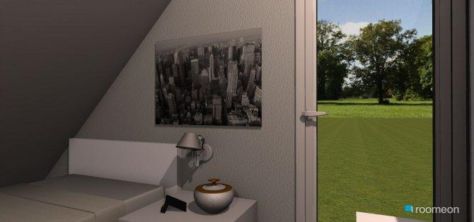Raumgestaltung Dachzimmer in der Kategorie Hobbyraum