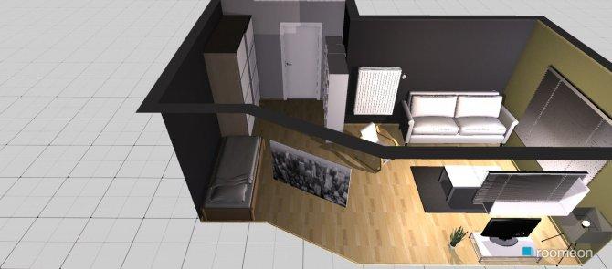 Raumgestaltung Davids Zimmer in der Kategorie Hobbyraum