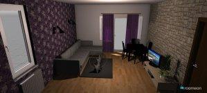 Raumgestaltung Dnevna Dnevna in der Kategorie Hobbyraum