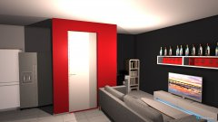 Raumgestaltung Dnevni,kuhinja1 in der Kategorie Hobbyraum