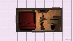 Raumgestaltung Drittes Zimmer Variante in der Kategorie Hobbyraum